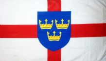 EAST ANGLIA - 5 X 3 FLAG